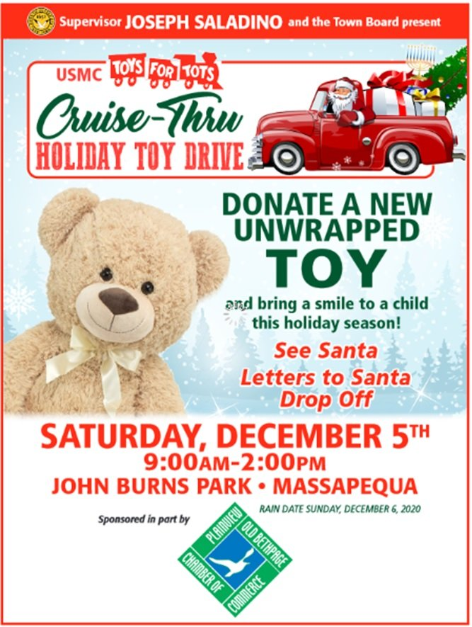 Toy Drive! With Town of Oyster Bay