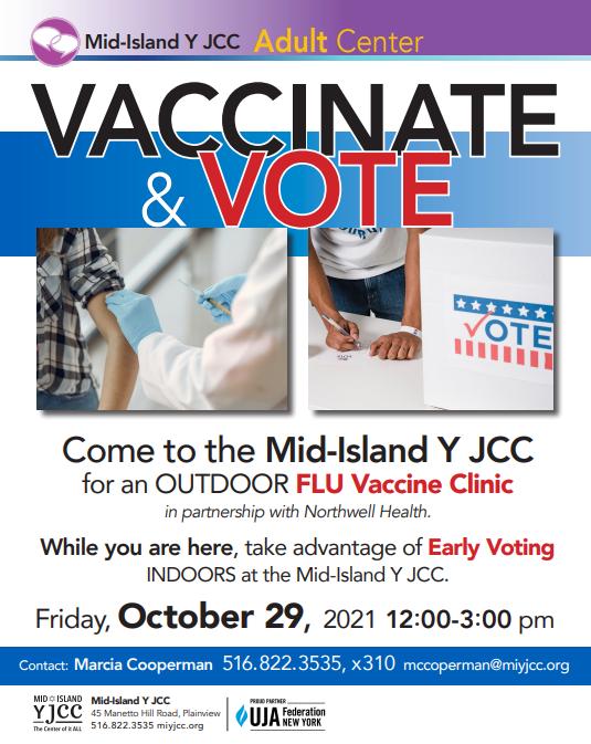 Member Event: Flu Vaccine Clinic @ Mid-Island Y JCC
